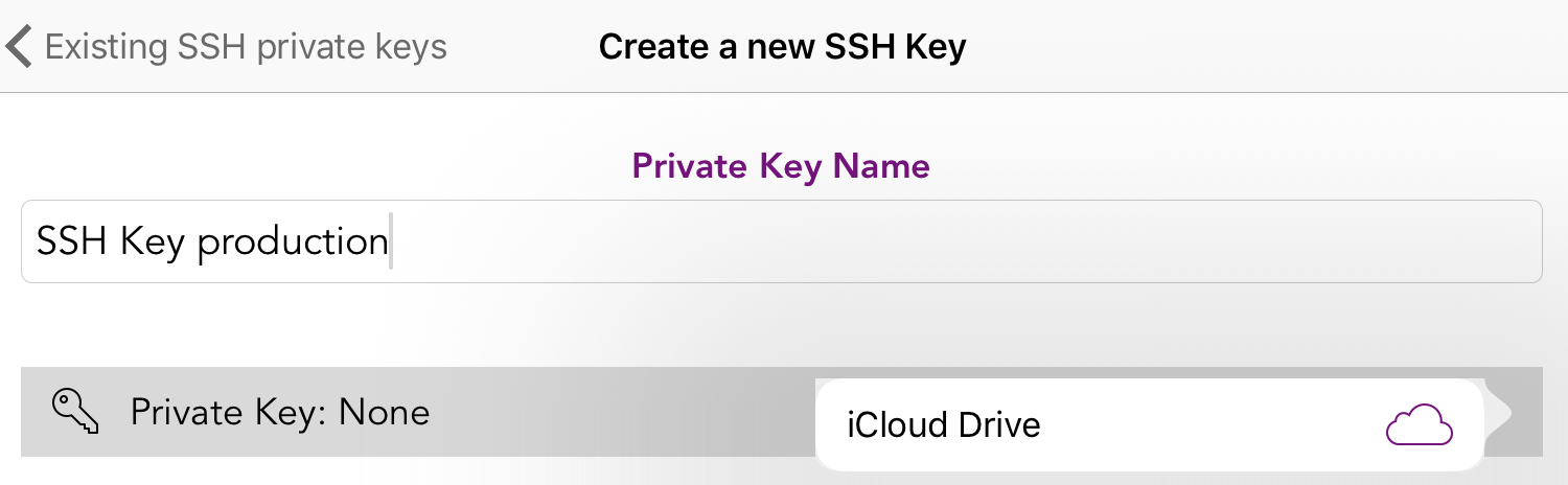 New SSH key